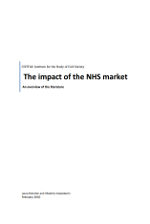 The impact of the NHS market
