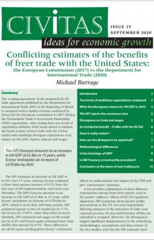 Conflicting estimates of the benefits of freer trade with the United States