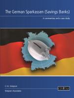 The German Sparkassen (Savings Banks)