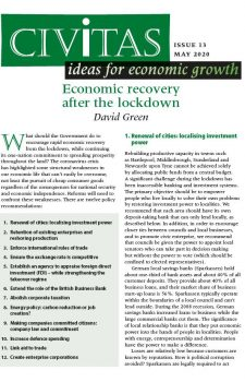 Economic recovery after the lockdown